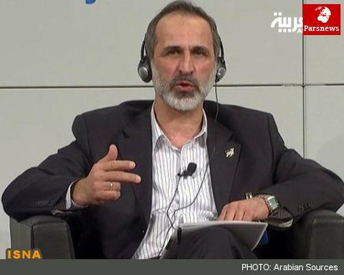 سخنرانی معاذ الخطیب در نشست دوحه