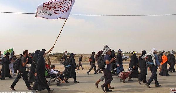 امداد رسانی به 125 هزار زائر در پیاده روی اربعین