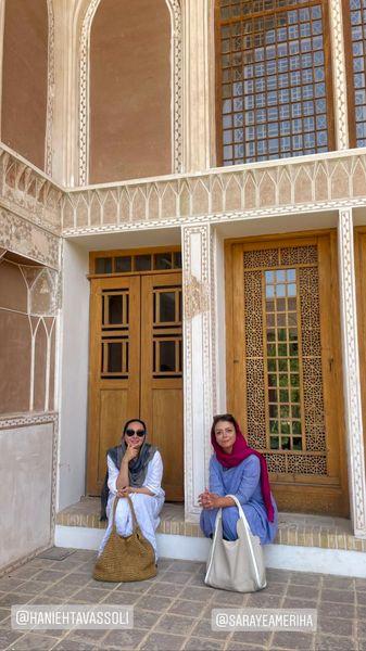 هانیه توسلی و شبنم فرشادجو در سفر + عکس