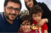 سلفی خانوادگی شهرام عبدلی