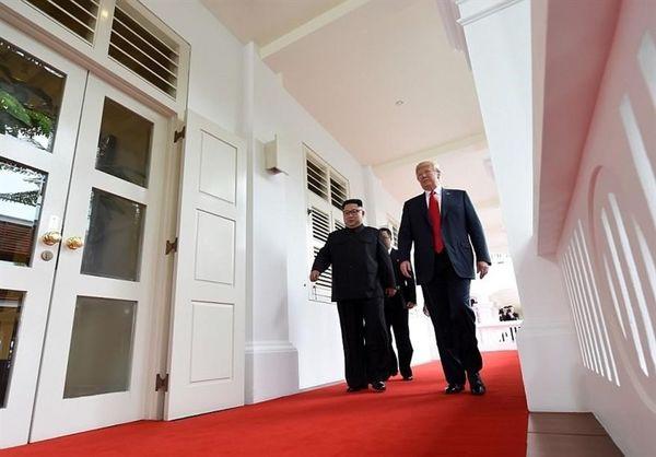 ترامپ: دیدار با رهبر کره شمالی بهتر از آنچه انتظارمیرفت برگزار شد