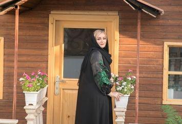 نعیمه نظام دوست دم در خانه خاص+عکس