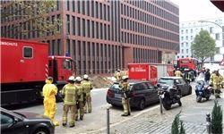 ساختمان سرویس اطلاعات آلمان تخلیه شد