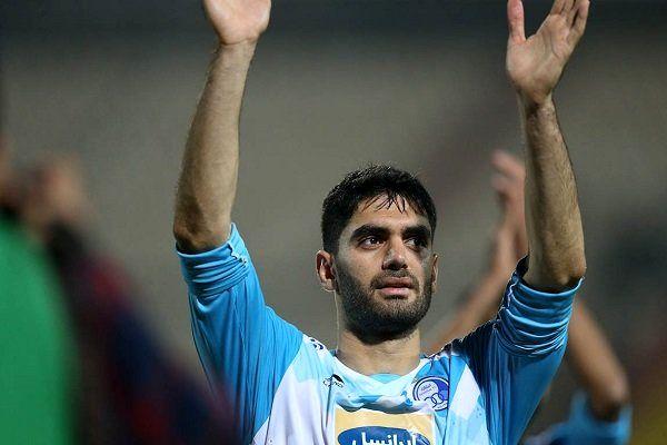 علی کریمی بهترین بازیکن استقلال در اهواز