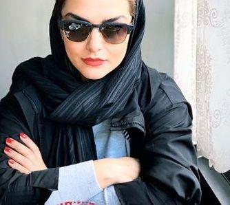 عکس خوش استایل دختر بازیگر رویا تیموریان