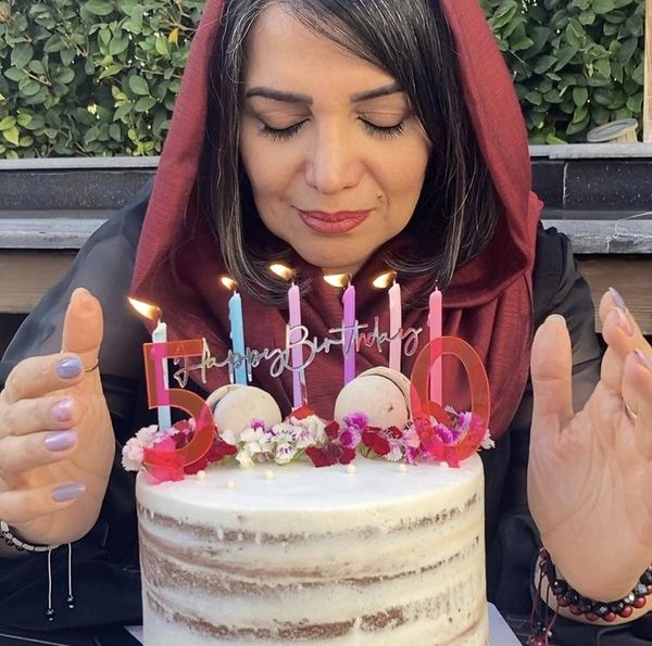 کیک تولد زیبای الهام پاوه نژاد + عکس
