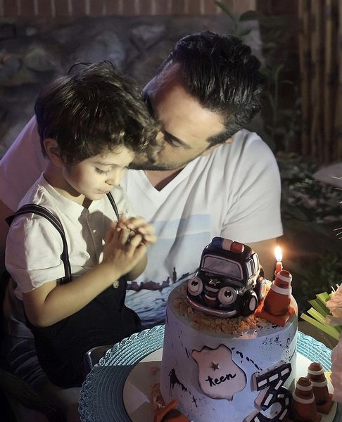 تولد لوکس پسر پدرام کریمی + عکس