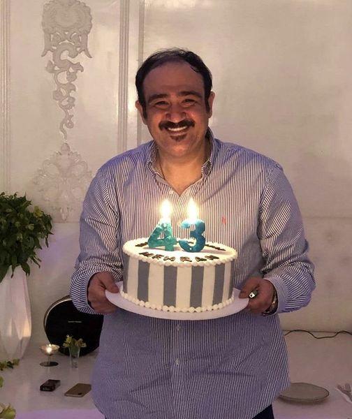 تولد ۴۳سالگی مهران غفوریان + عکس