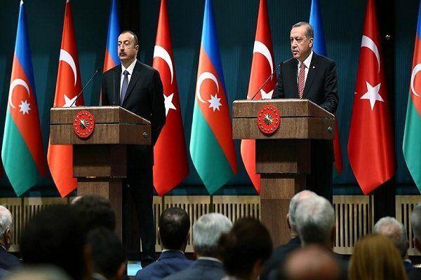 اردوغان با همتای آذربایجانی خود دیدار کرد