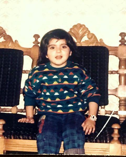 عکس خوشتیپ از کودکی هلیا امامی