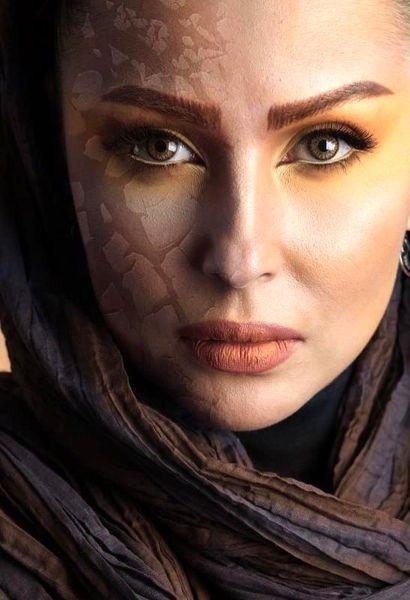 چهره پاییزی پرستو صالحی+عکس