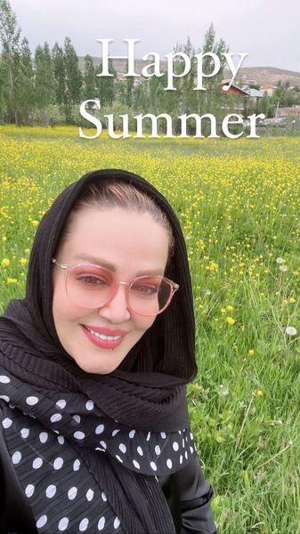 حال خوب بهاره رهنما در تابستان + عکس