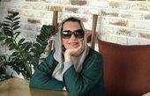 فریبا کوثری در یک کافه + عکس