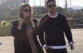 گشت و گذار شاهرخ استخری و همسرش + عکس