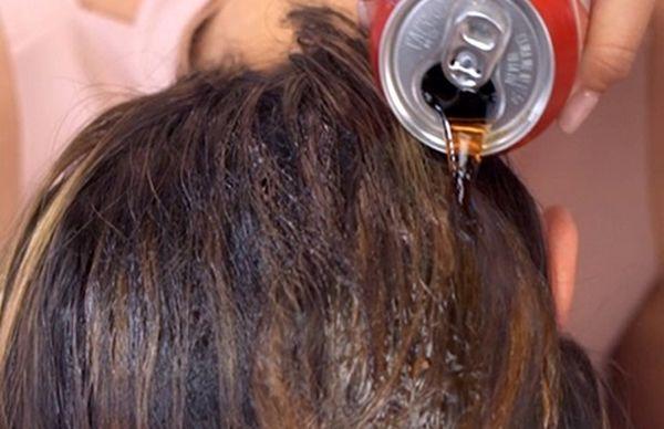 موهایتان را با نوشابه صاف کنید!