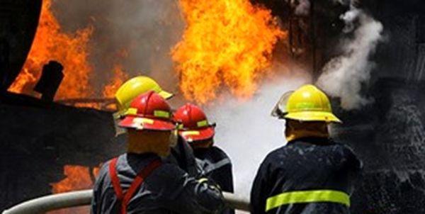 آتشسوزی در کارگاه مبلسازی