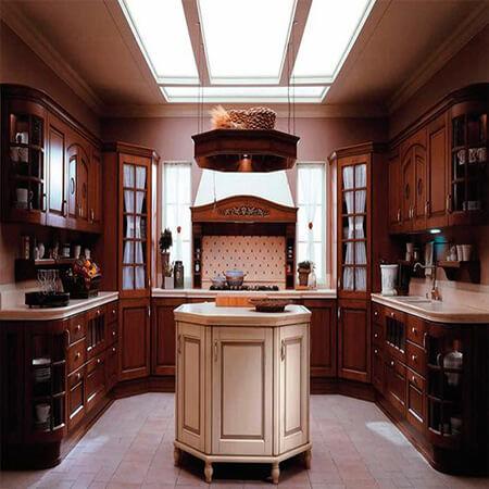 جدیدترین کابینت کلاسیک, انواع کابینت کلاسیک, مدل های متفاوت کابینت کلاسیک