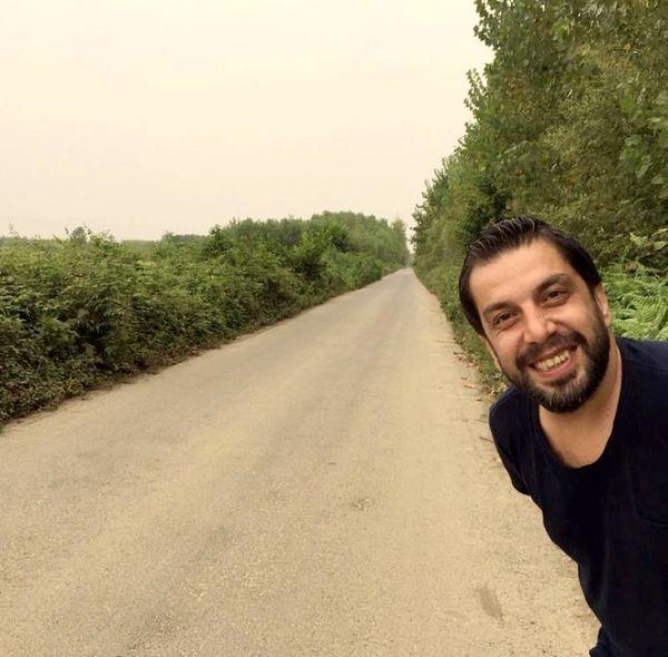 عباس جمشیدی فر در جاده ای بی انتها + عکس
