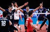 اولین پیروزی آلکنو با ایران در لیگ ملتهای والیبال
