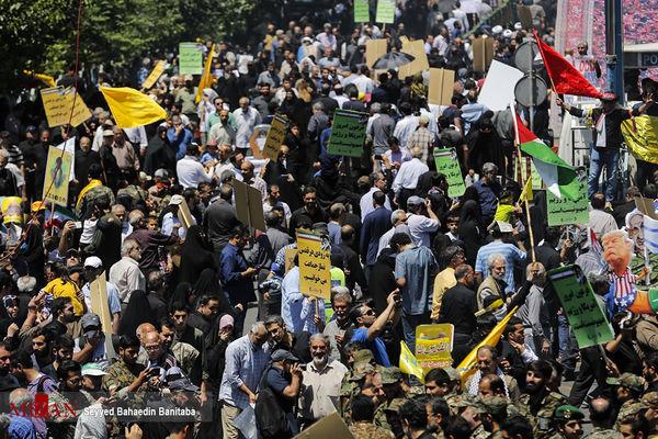 انتقال ۴ نفر از راهپیمایان تهرانی به مراکز درمانی +اسامی