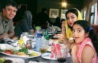 خواستگار عاشق پیشه ستایش در کنار همسر و دخترش+عکس