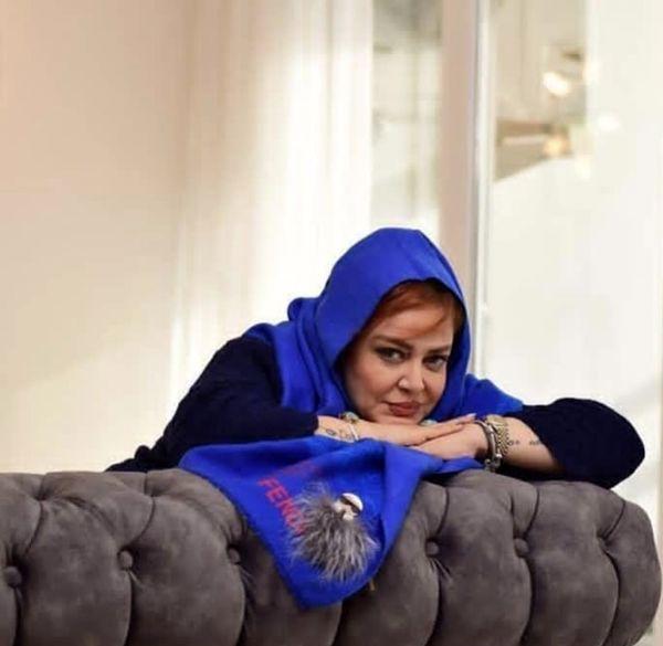 بهاره رهنما در خانه اش + عکس