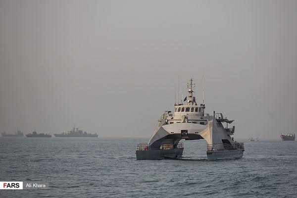نیروی دریایی سپاه به شناور موشکانداز جدید با سرعت ۸۰ کیلومتر مجهز شد