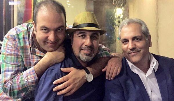 علی اوجی در کنار دو اسطوره کمدین سینمای ایران + عکس