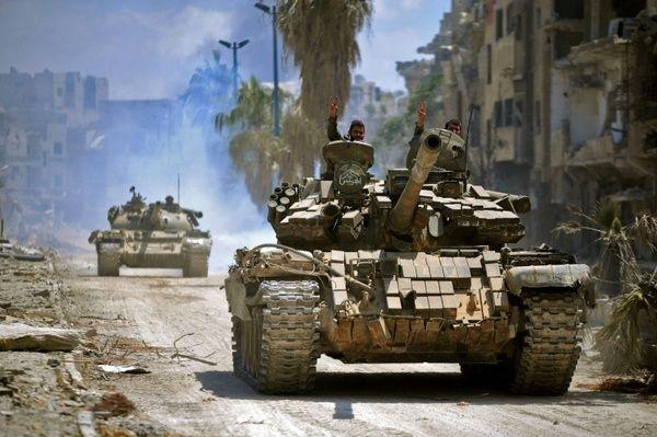کنترل کامل ارتش سوریه بر پایگاه اصلی داعش در جنوب دمشق