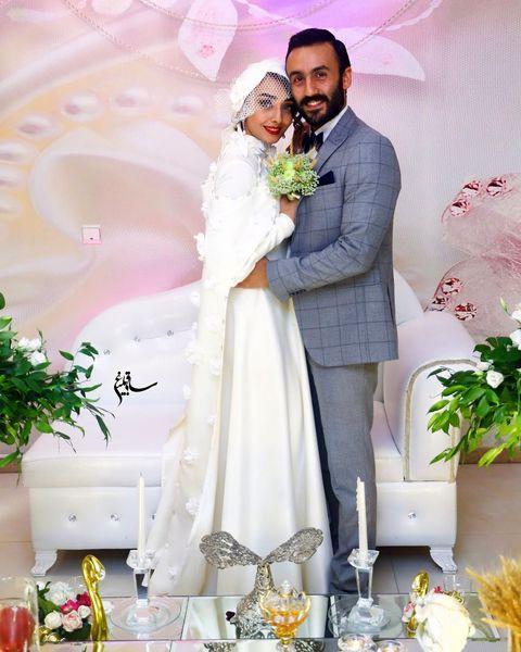 عروسی خانم بازیگر با پسر فاطمه گودرزی+عکس