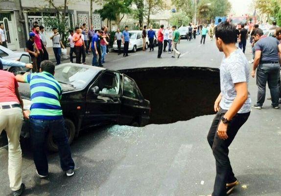 «نشست زمین» در تهران اجتنابناپذیر است