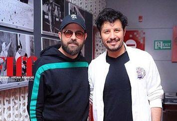 هومن سیدی و جواد عزتی در جشنواره جهانی فجر