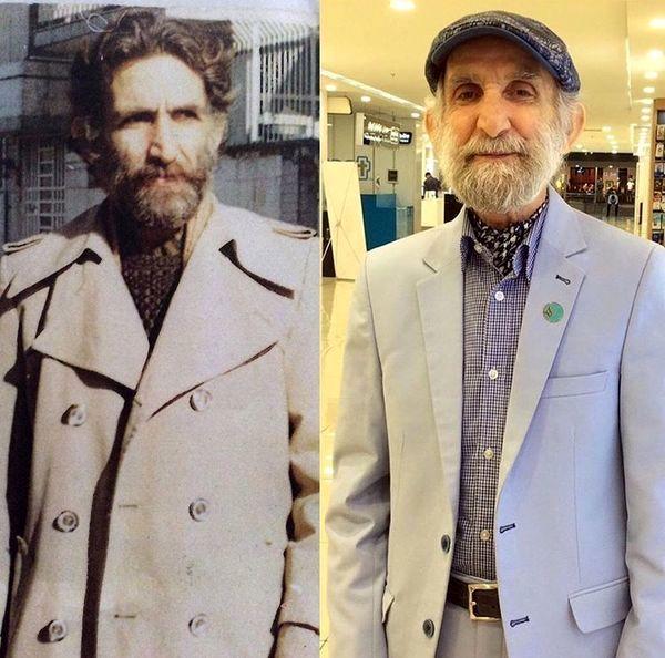تغییر چهره اسماعیل خلج در گذر زمان + عکس