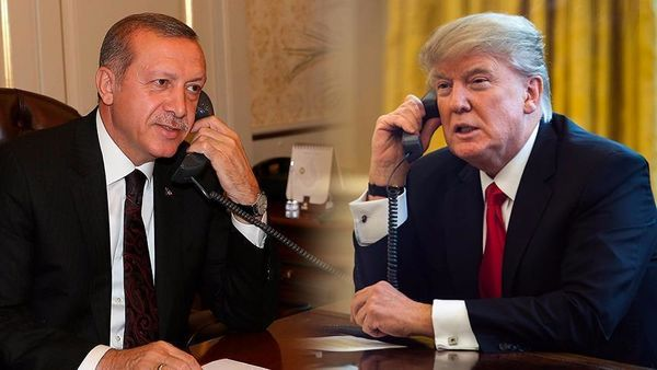 گفتگوی تلفنی اردوغان با ترامپ درباره ادلب و منبج سوریه