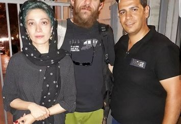 زوج بازیگر مشهور سینما با قیافه هایی پریشان+عکس