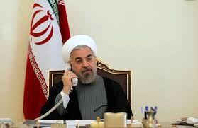 گفتگوی تلفنی روحانی و رئیس جمهور فرانسه