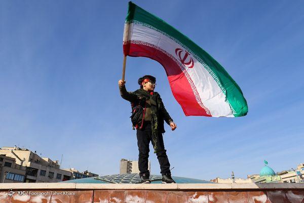 راهپیمایی ۲۲ بهمن ۹۹ در تهران/ گزارش تصویری