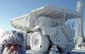 سرمای زیر ۵۰ درجه در روسیه این گونه است!