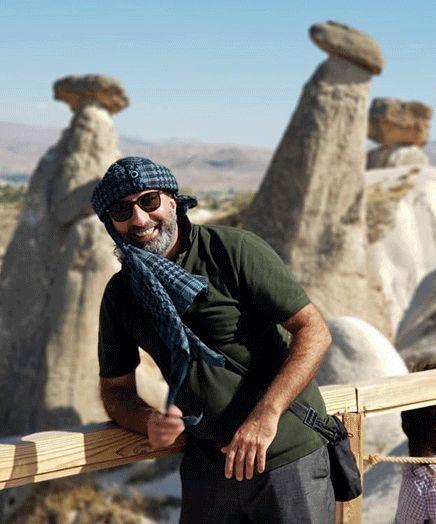 منصور ضابطیان در ترکیه + عکس