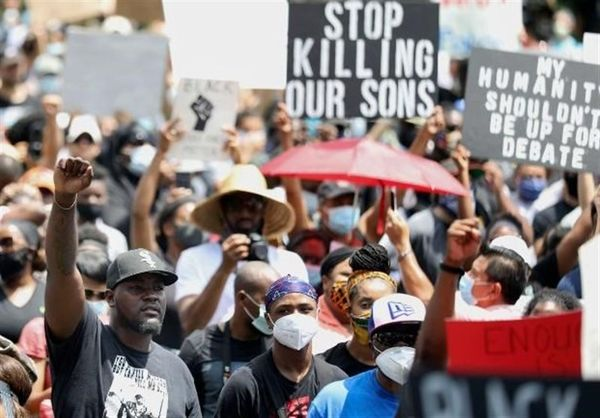 گسترش دامنه اعتراضات ضدنژادپرستی به شهرهای دیگر آمریکا