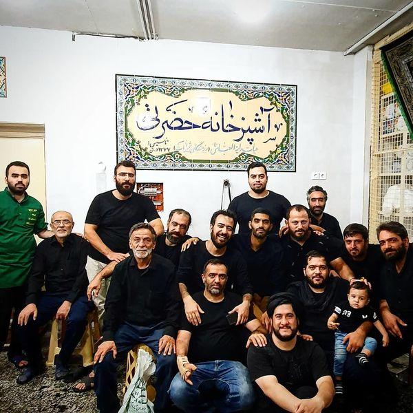 آقای فوتبالیست در آشپزخانه حضرتی+عکس