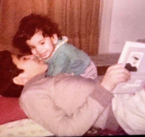 کودکی سروش صحت و برادرش + عکس