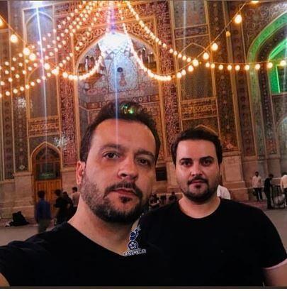 برادران سلوکی در زیارت + عکس