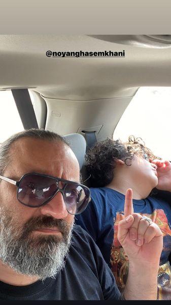 پسر خوابالوی آقای نویسنده + عکس