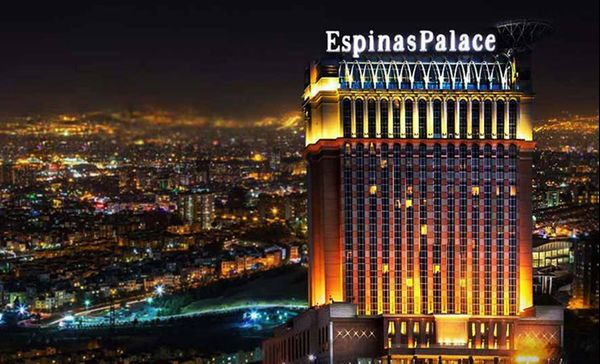 آشنایی با باشکوه ترین هتل تهران؛ هتل اسپینا پالاس