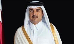 دیدار فرستاده امیر کویت با امیر قطر