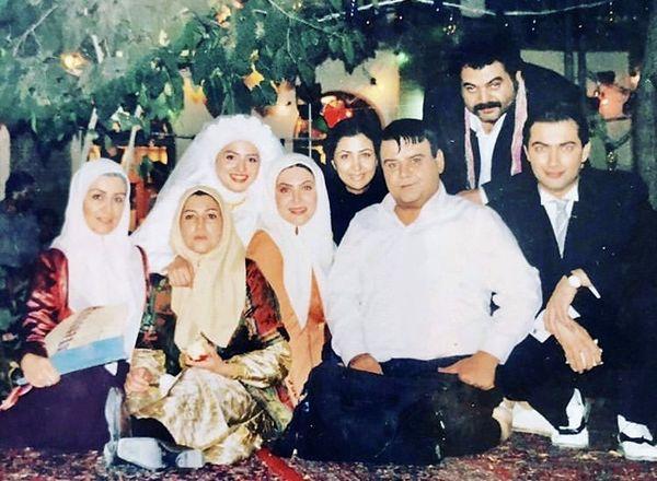 خاطره بازی گلاره عباسی از سریال در چشم باد + عکس