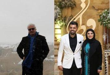 عاشقانه آذر معماریان برای علی معلم+عکس