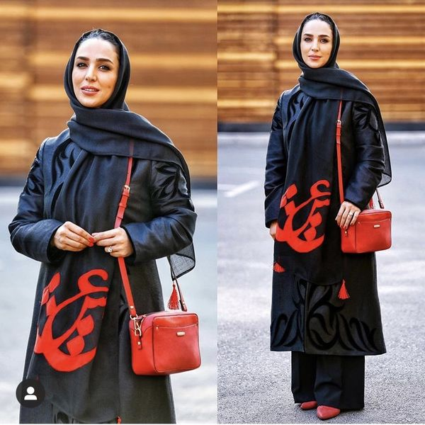 مانتو ایرانی الاصل سوگل طهماسبی + عکس