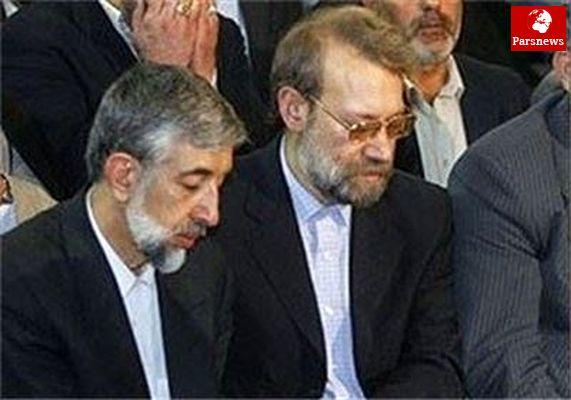 حداد عادل با علی لاریجانی دیدار کرد